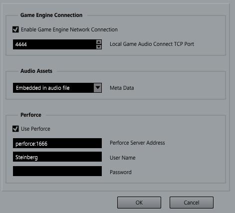 00 Le impostazioni per Game Audio Connect