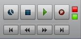 03. nella Transport Bar i quadrati rosso e verde indicano rispettivamente che sono attivi lo stato di registrazione e di Input Monitoring