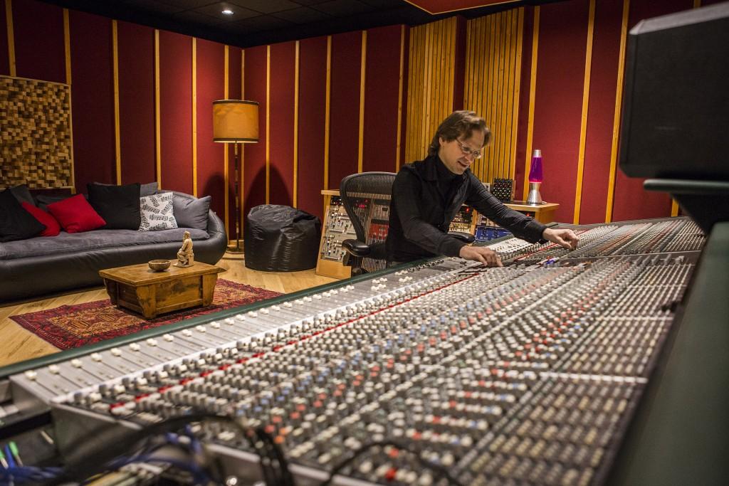 Nico Odorico nello Studio A