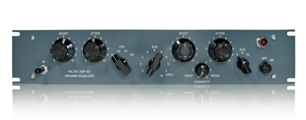 Pultec EQP-1S3 analog hardware outboard passive