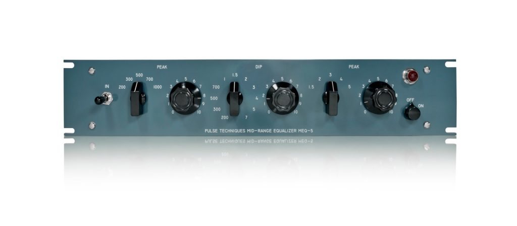 Pultec MEQ-5 analog hardware outboard passive