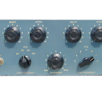 pultec eqp-1a passivo eq outboard hardware analog