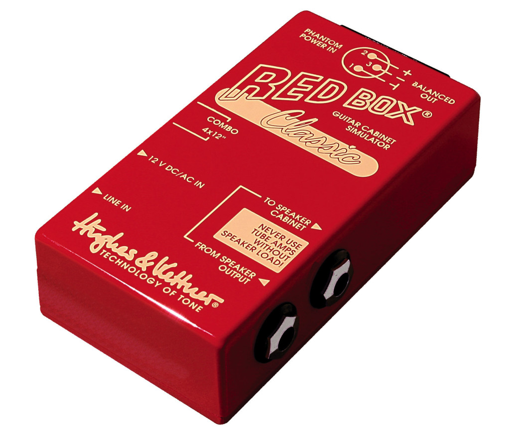 02. Riedizione moderna del Red Box Classic di Hughes&Kettner