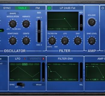 PPG Wave retro synth apple logic pro x virtual instrument