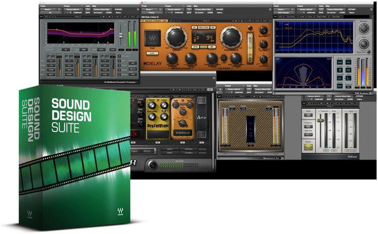 Waves Sound Design Suite plug-in bundle