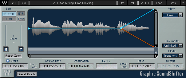 waves graphic soundshifter plug-in audio daw virtual