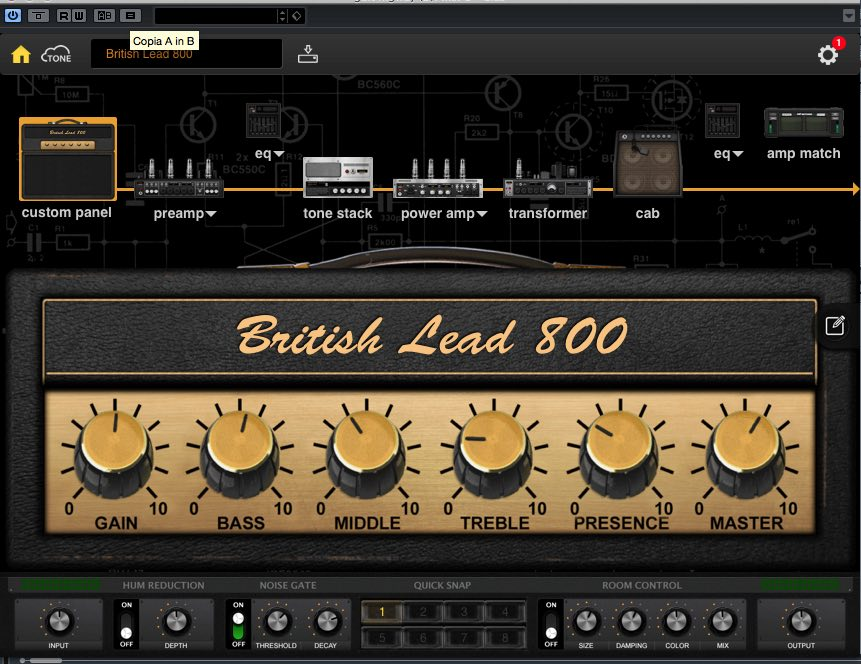 virtual guitar ritchie blackmore chitarra tutorial elettrica
