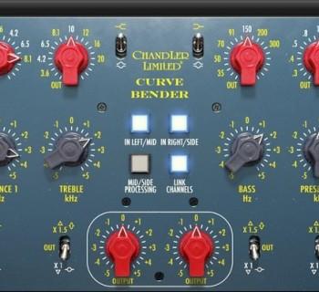 Universal audio UAD chandler limited Curve Bender eq software plug-in audio
