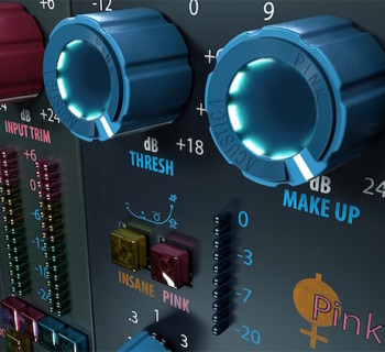acustica audio pink channel strip plug-in audio pro daw virtual software