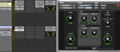 tutorial avid pro tools harmonic exciter distorsore daw software plug-in