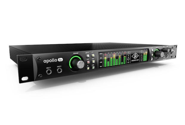interfaccia audio apollo 8p universal audio hardware uad plug-in