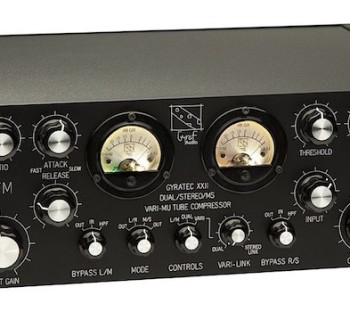 Gyraf Audio G22 vari mu comp analog outboard rack hardware