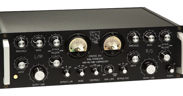 Gyraf Audio G22 vari mu comp analog outboard rack hardware