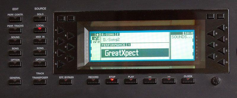 Il generoso display monocromatico e retroilluminato da 240 x 64 pixel, a corredo di tutti i modelli della serie S