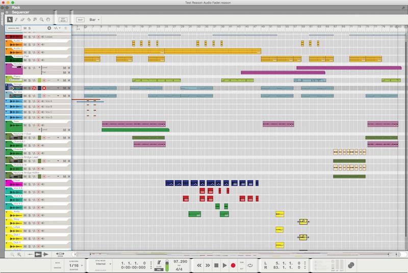 04 Il Sequencer in modalità Arrange