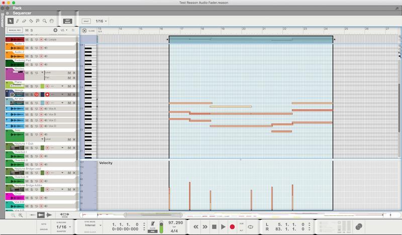 05 L'Edit Mode del Sequencer