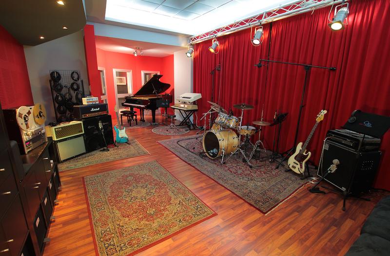 La sala di ripresa di Zerodieci Studio