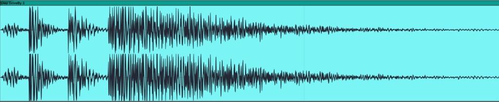 05.1 Forma d'onda di un clap