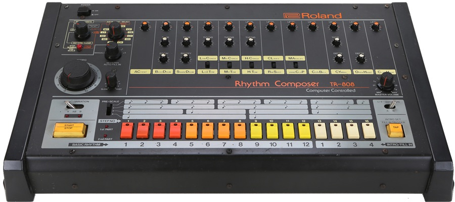 Apertura drum syntesis tr-808