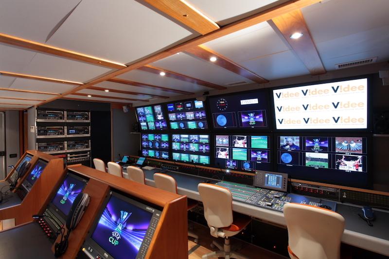 Una production room