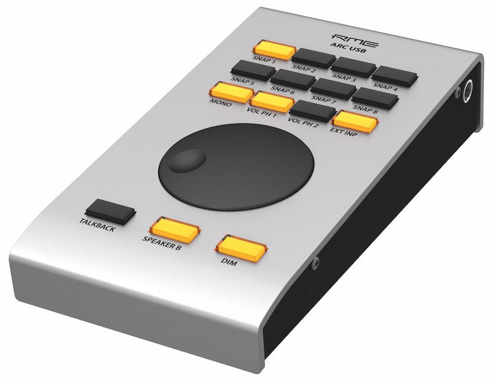 02 Il controller ARC USB per la gestione di Fireface UFX II