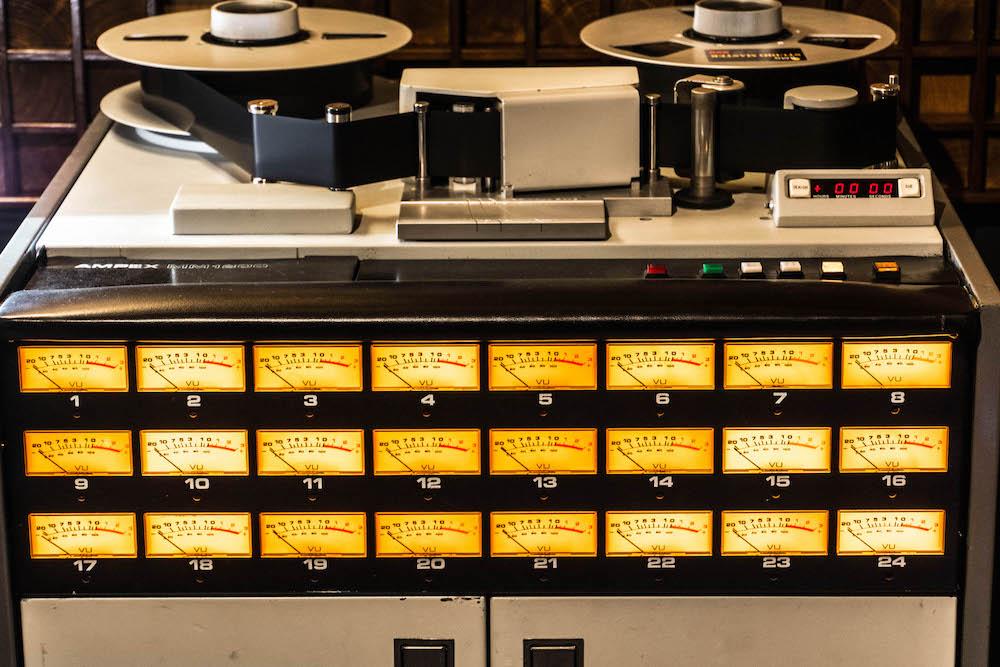 02 Il registratotore a nastro Ampex, ph Raimondo Cusmano