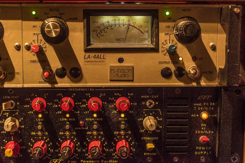 2 Il Marson Audio LA4All e l'equalizzatore italiano EFT Tassoni, ph Jako Giacomini