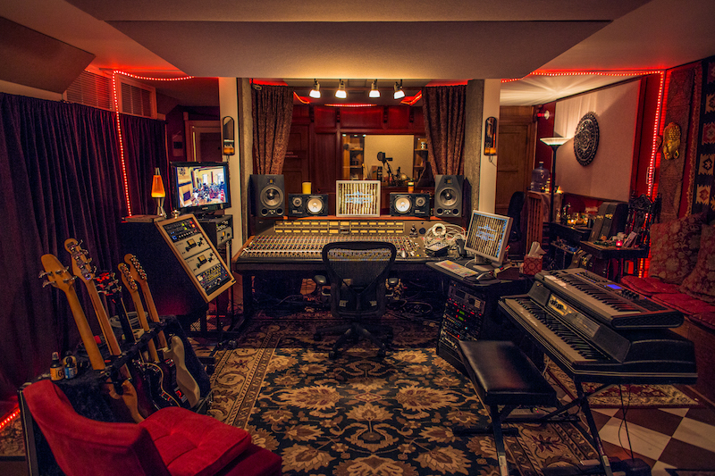 4 La regia degli Speakeasy Studios a Los Angeles, ph. Jako Giacomini