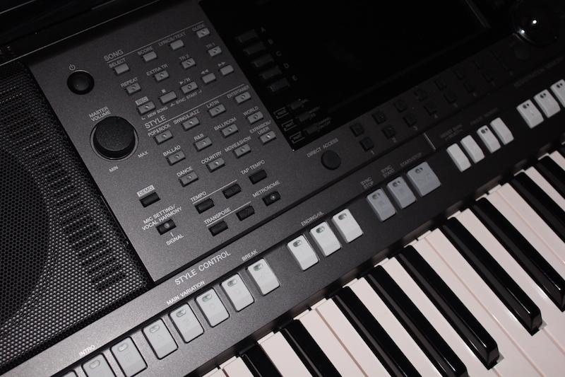 Gestione semplice e intuitiva di Style e Song