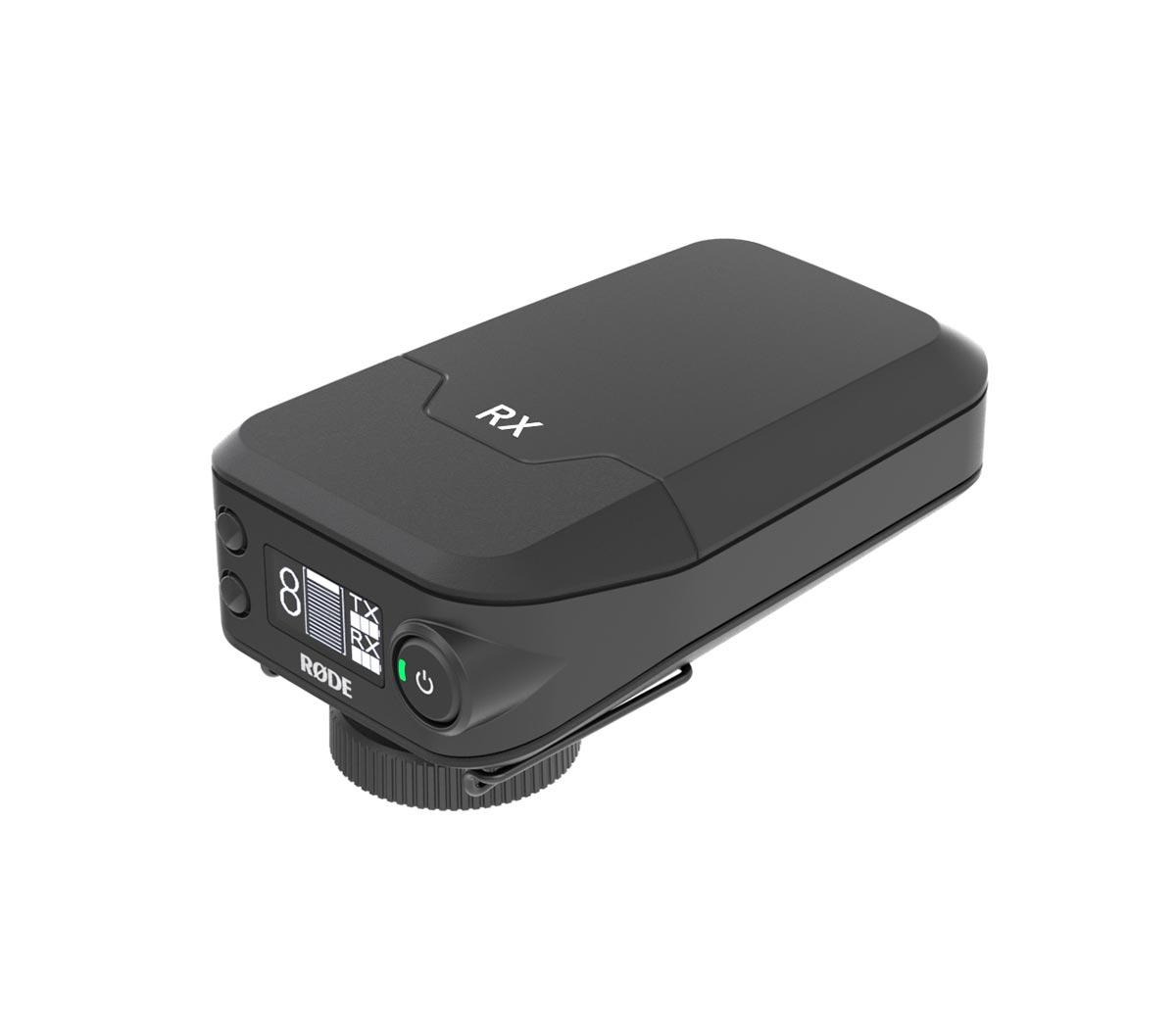 Il ricevitore del Filmaker Kit: si noti l'ampio OLED