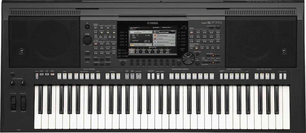 La tastiera arranger Yamaha PSR-S770