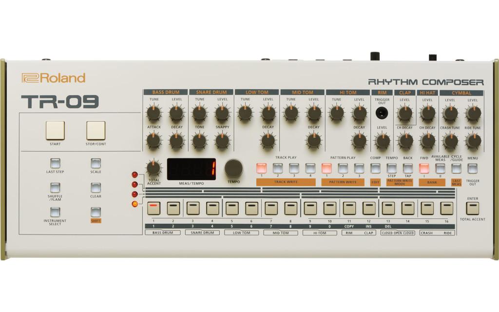 Roland TR-09, la batteria elettronica di Delirium