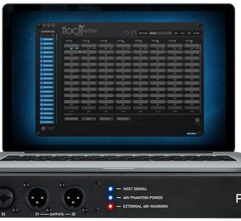 Flock Audio Patch patchbay digital audiofader