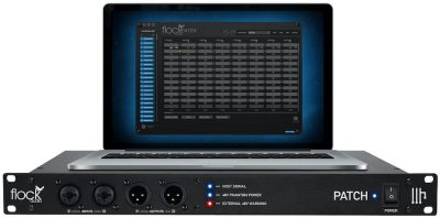 Flock Audio Patch patchbay digital audiofader
