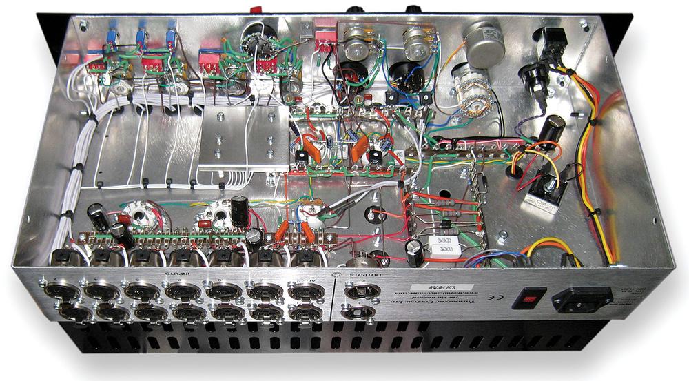 La circuiteria interna