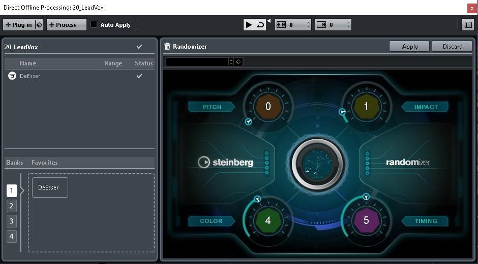 Sound Randomizer è uno strumento utile per il sound design ma soprattutto per chi lavora nell'ambito videogame