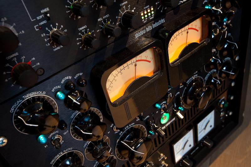 Il rack dei compressori:limiter esoterici