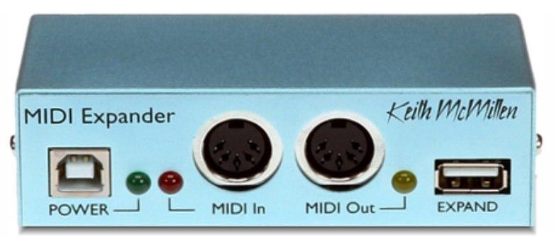 MIDI Expander (venduto separatamente) consente a BopPad Mount di controllare apparecchiature MIDI. Grazie ad una porta MIDI addizionale, MIDI Expander permette inoltre di interfacciare un ulteriore controller o master keyboard, allo stesso computer a cui è collegato BopPad Mount.