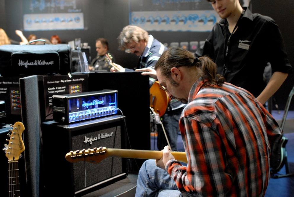Apertura musikmesse AmpWorld