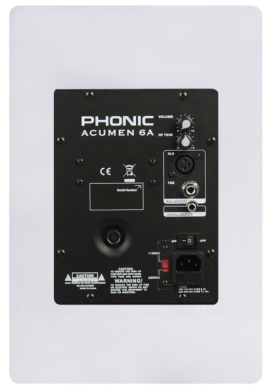 13 PHONIC ACUMEN-Back