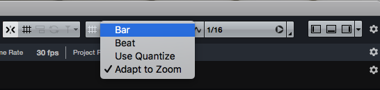 La voce Adapt to Zoom