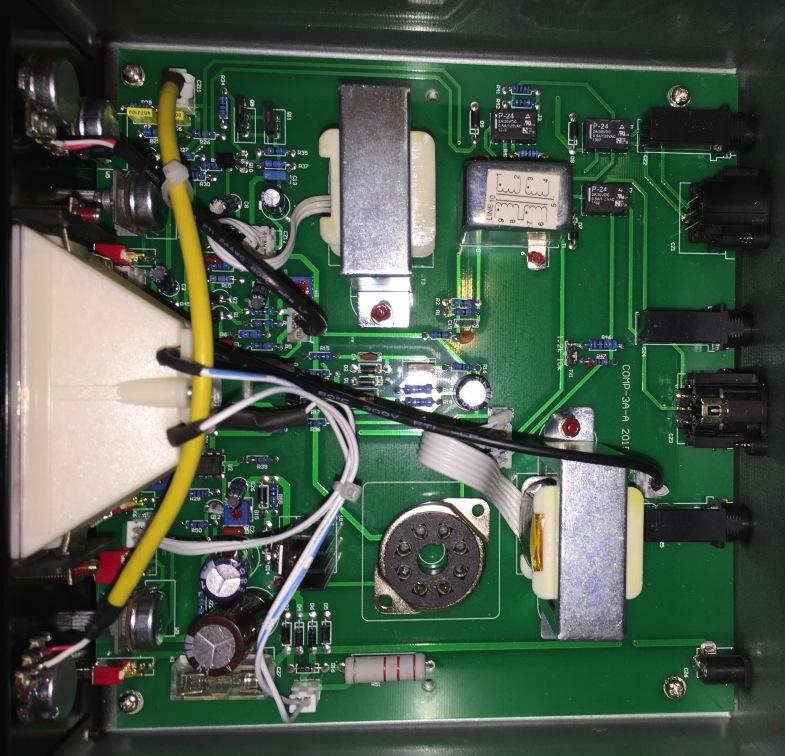Circuitazione interna di Golden Age Comp-3A