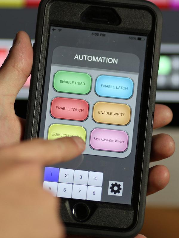 L'applicazione Slate Remote per smartphone