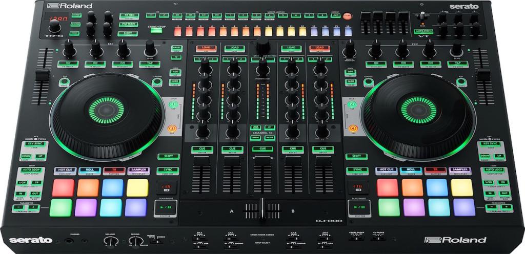La console Roland DJ-808