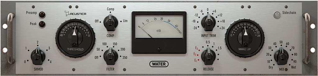 Acustica Audio Water Comp plugin virtual