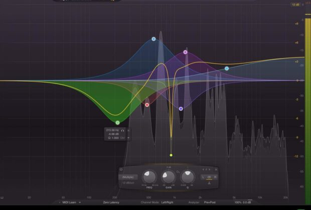iPad app mix eq