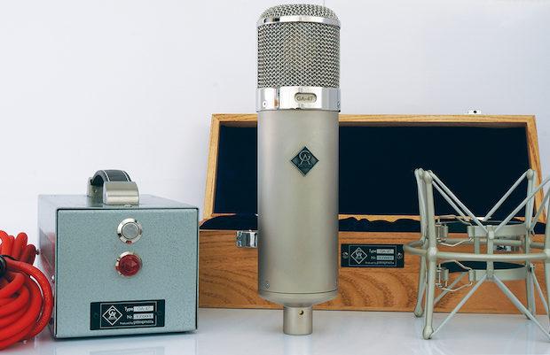 microfono valvolare tube