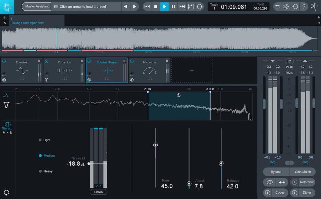 software DAW mastering
