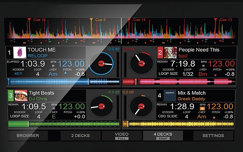 Virtual DJ8 software DJ live