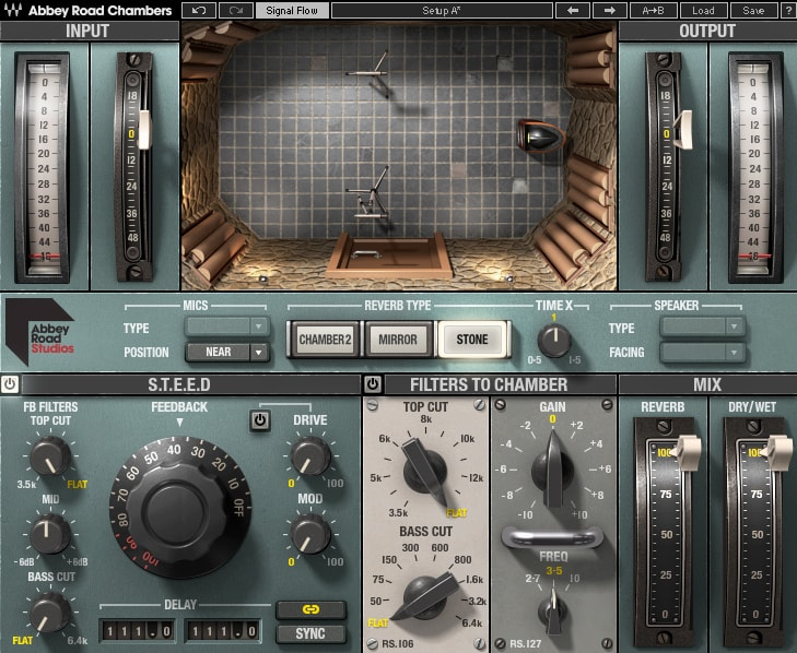 Waves Abbey Road Chambers plugin reverb